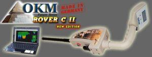 اسکنر فلزیاب روور Okm Rover c2